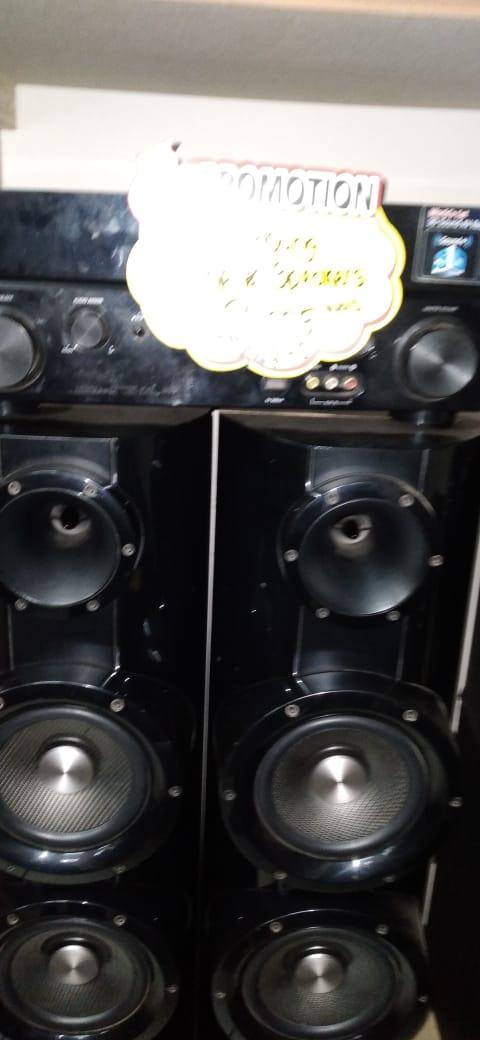 Samsung Amp & Speakers