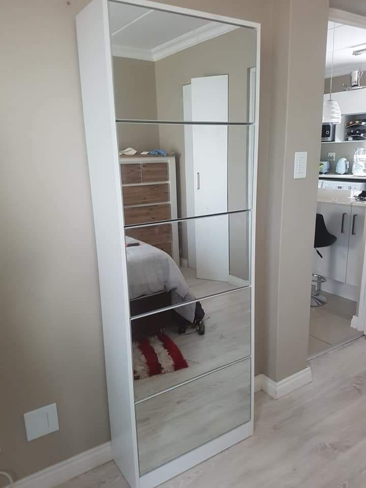 5 draw shoe mirror cabinets for sale