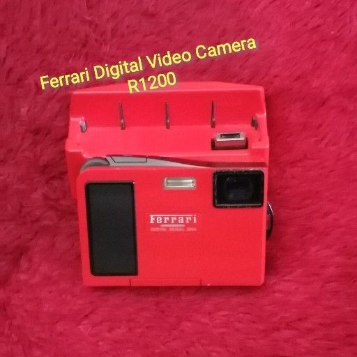 Ferrari Digital Camera with All Accessories in Excellent Condition