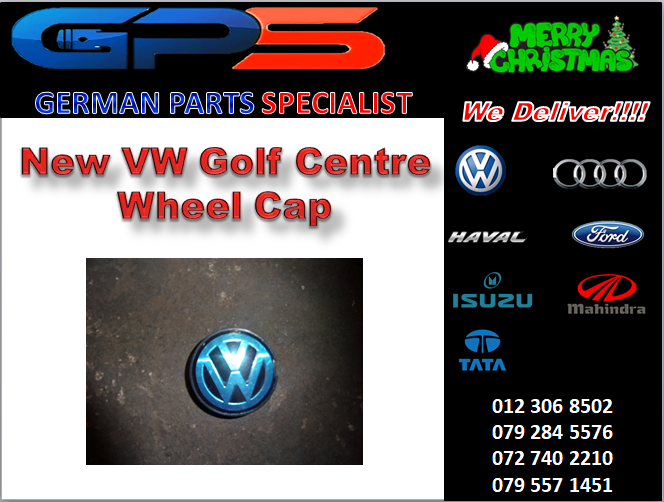 New Golf Centre Wheel Cap for Sale