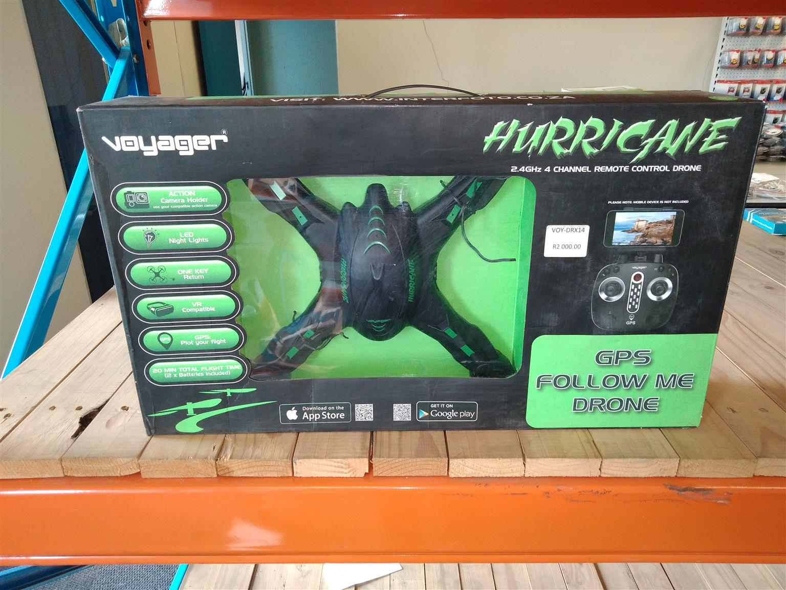 Voyager Hurricane ×14 Drone