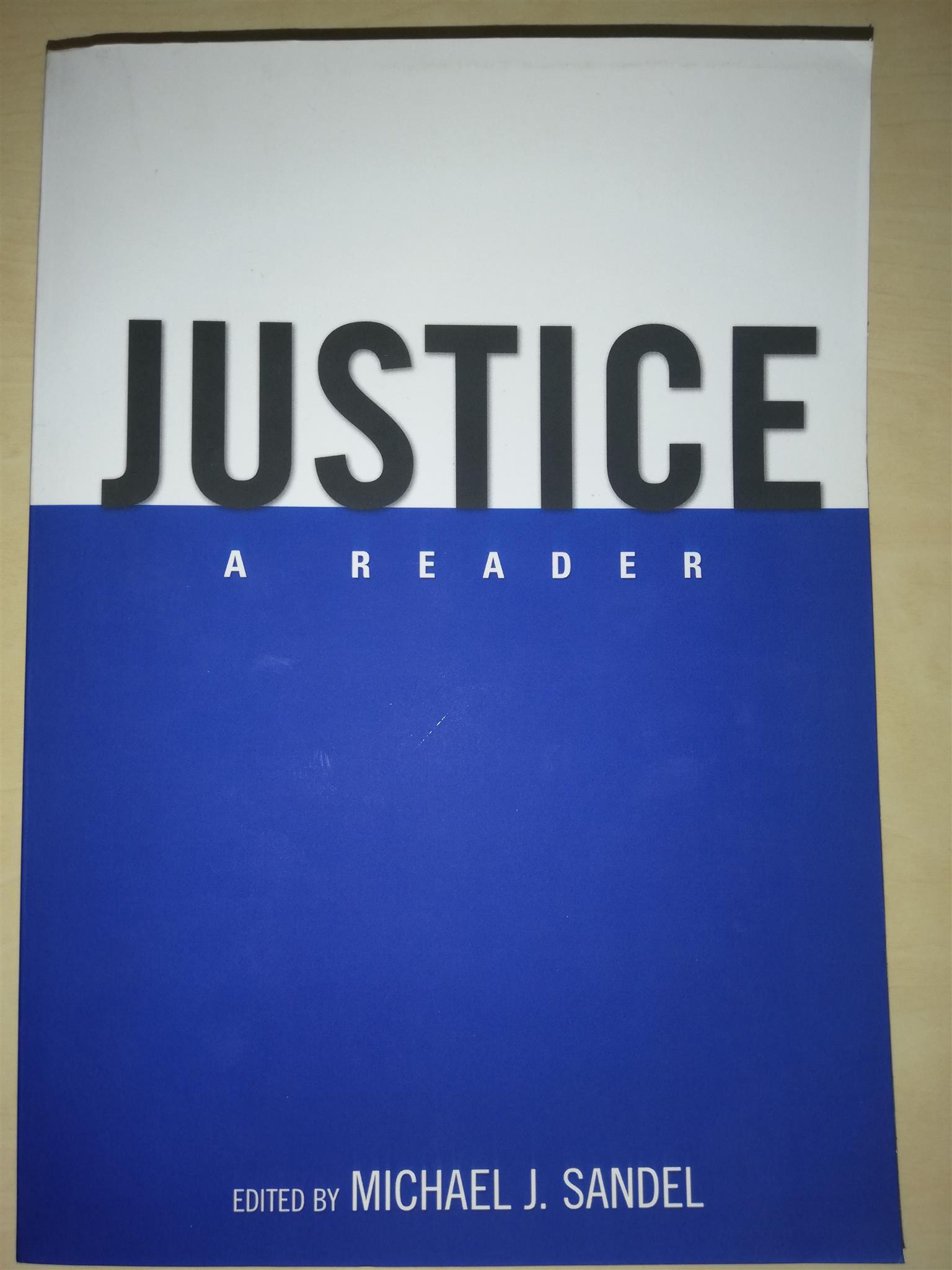 Justice A Reader