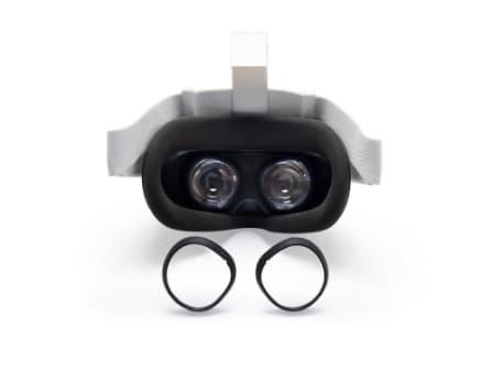 Oculus Quest 2:Anti-Blue Light Lens+VR Lens Dust Cover+ Silicon face Cover