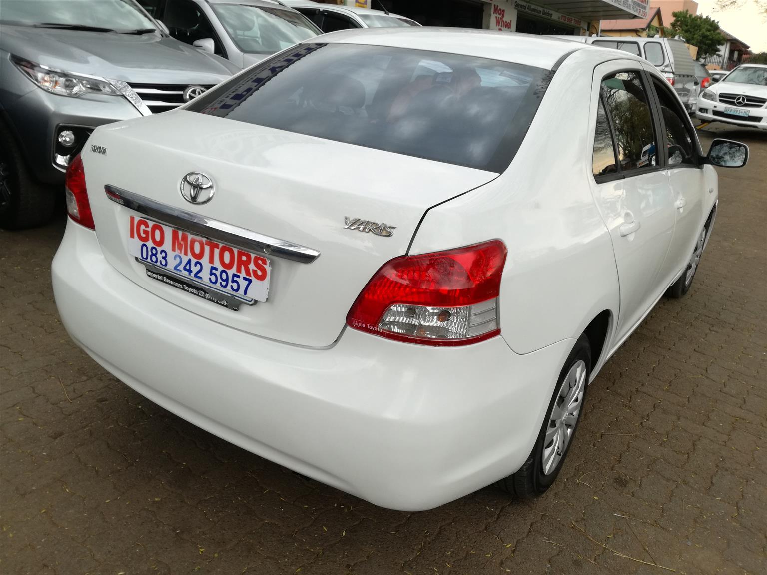 2006 Toyota Yaris 1.3 Sedan T3 93,000km R79,000 Mechanically perfect