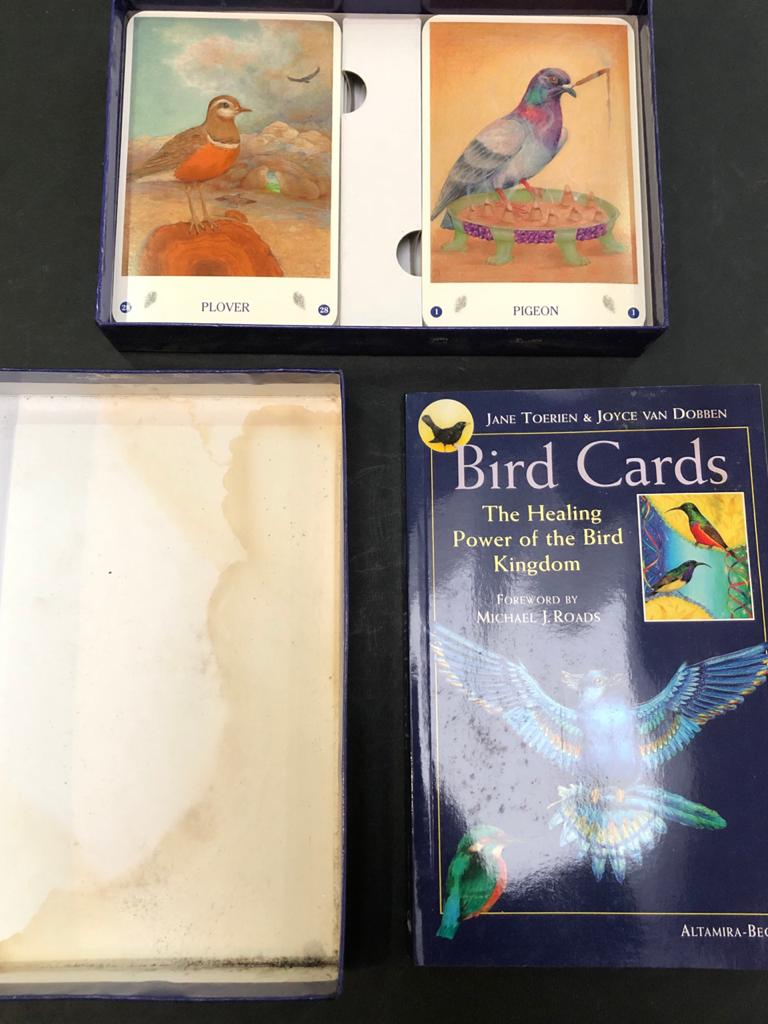 Bird Cards: The Healing Power of the Bird Kingdom - by Jane Toerien; complete wi