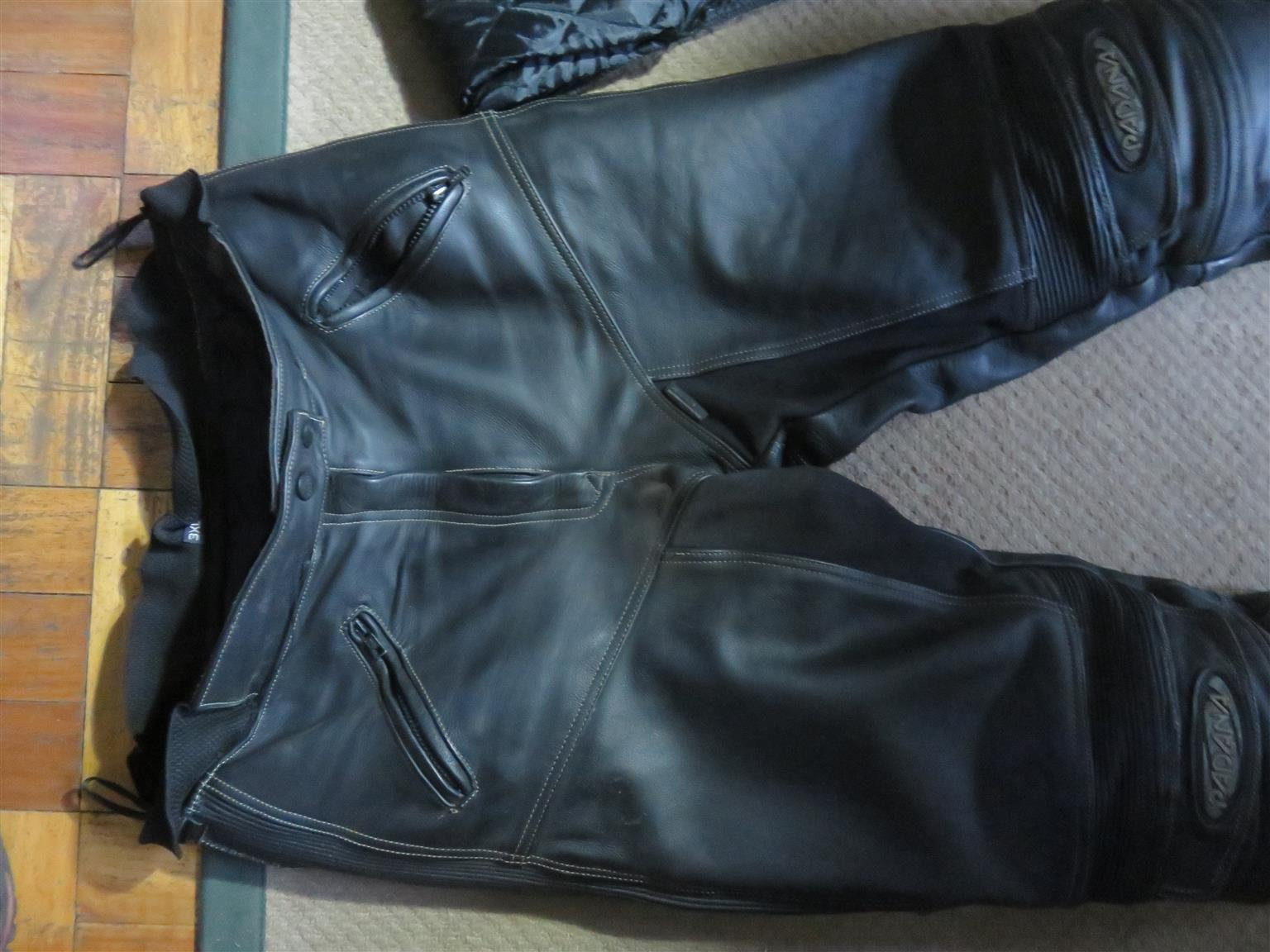 Leather jeans   for sale