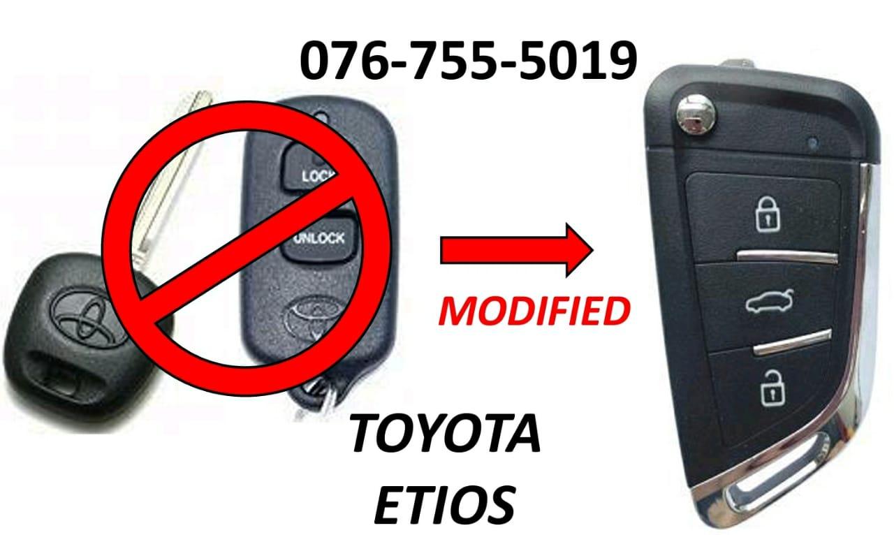 Toyota Etios Spare Key