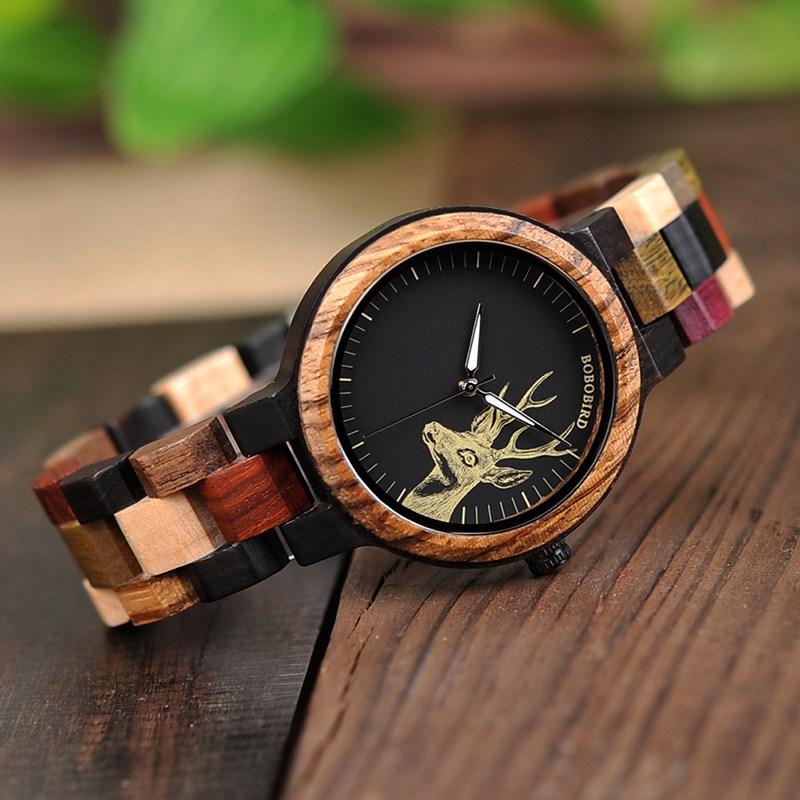Bobo Bird Wooden Watch