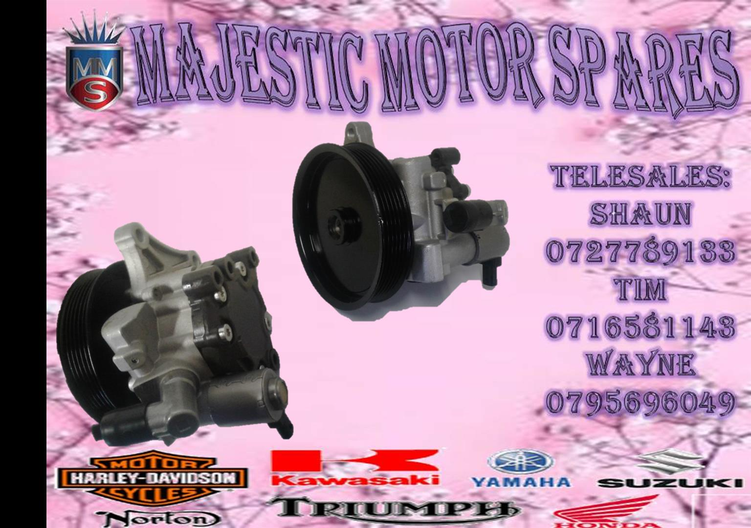 MBENZ W204 POWERSTEERING PUMP NEW FOR SALE.