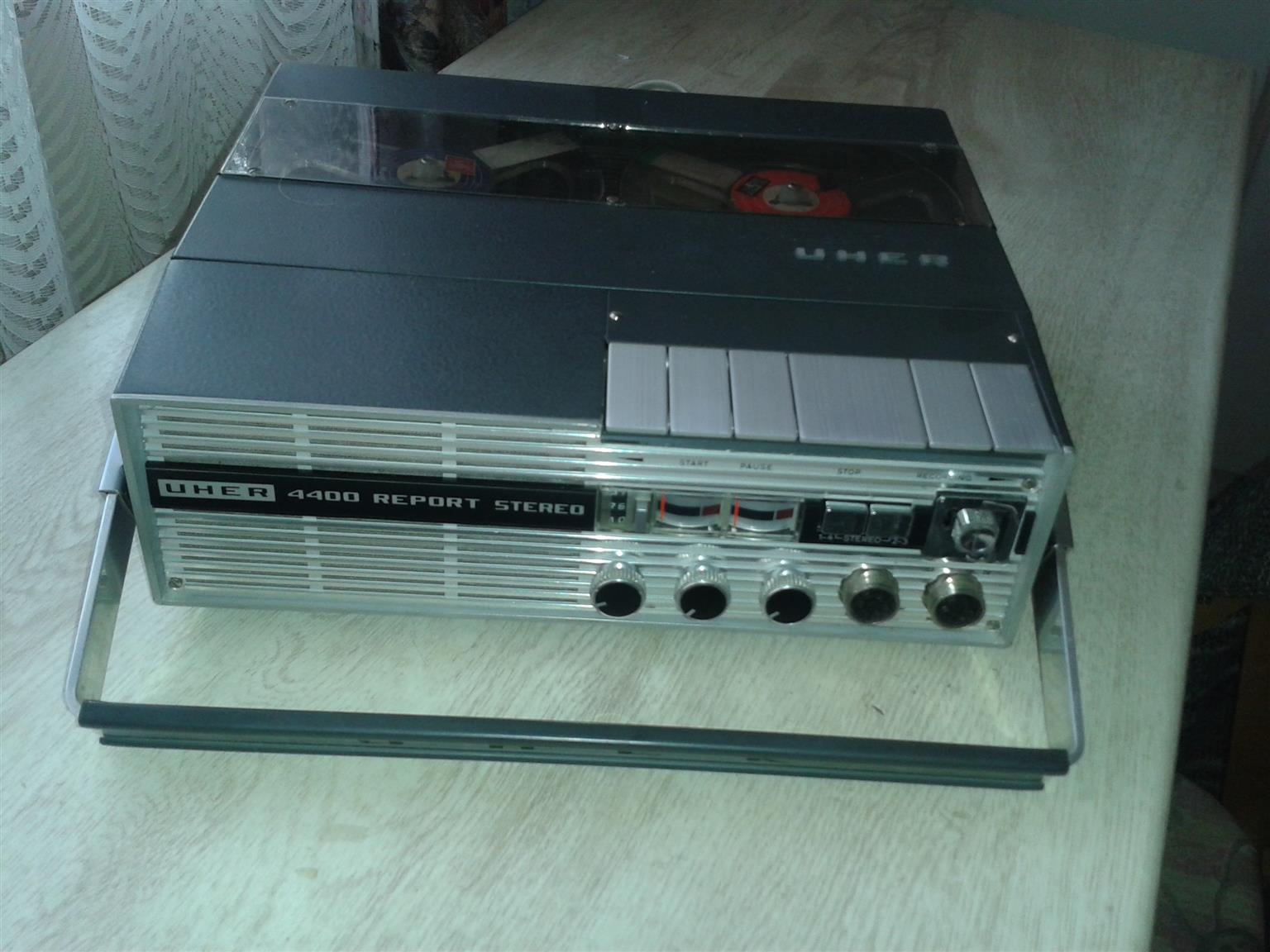 UHER 4400 reporter stereo reel to reel 1967-1972, working order