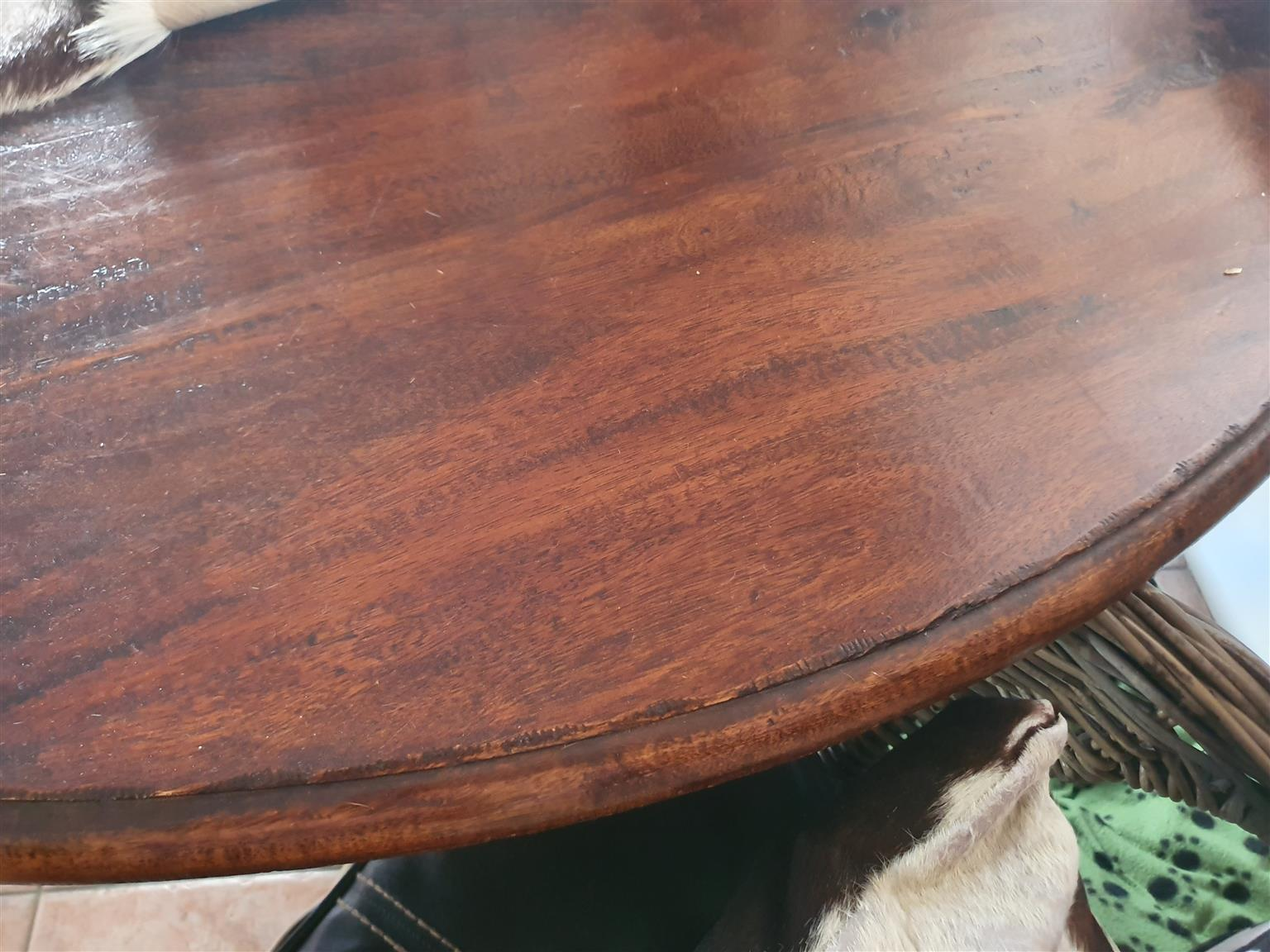 Wetherleys round dining table