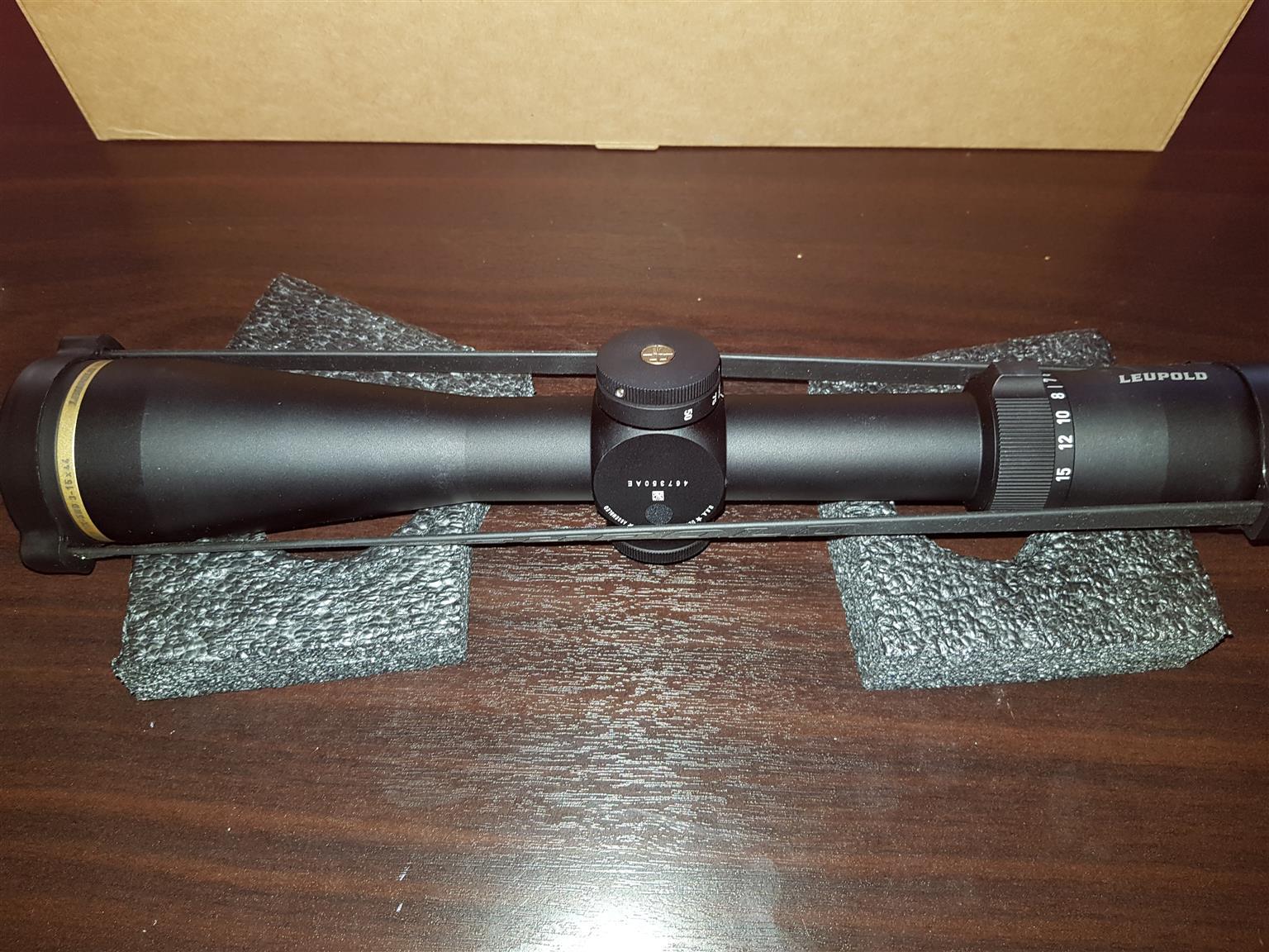 Leopold scope vx5hd 3-15x44 cds zl2 matte 30mm