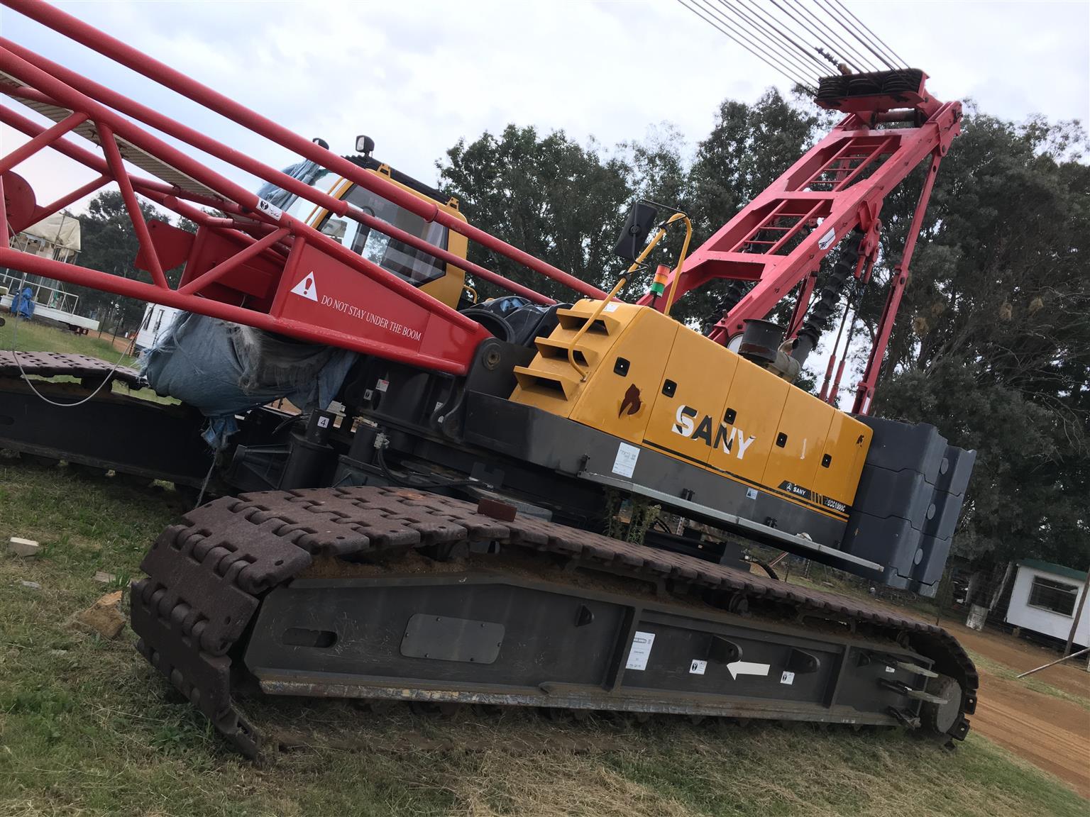 105T Sany Crawler Crane