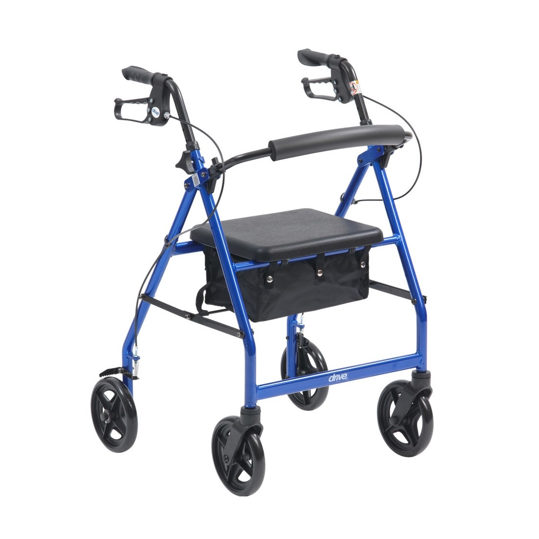 R6 Rollator by Drive Medical. Lightweight, Aluminium. On Promotional Offer, while stocks last.