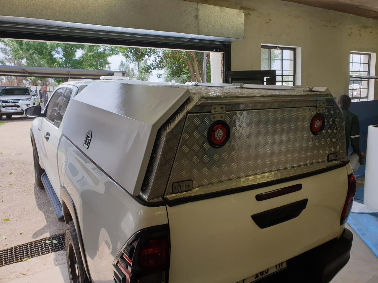 Aluminium Canopies
