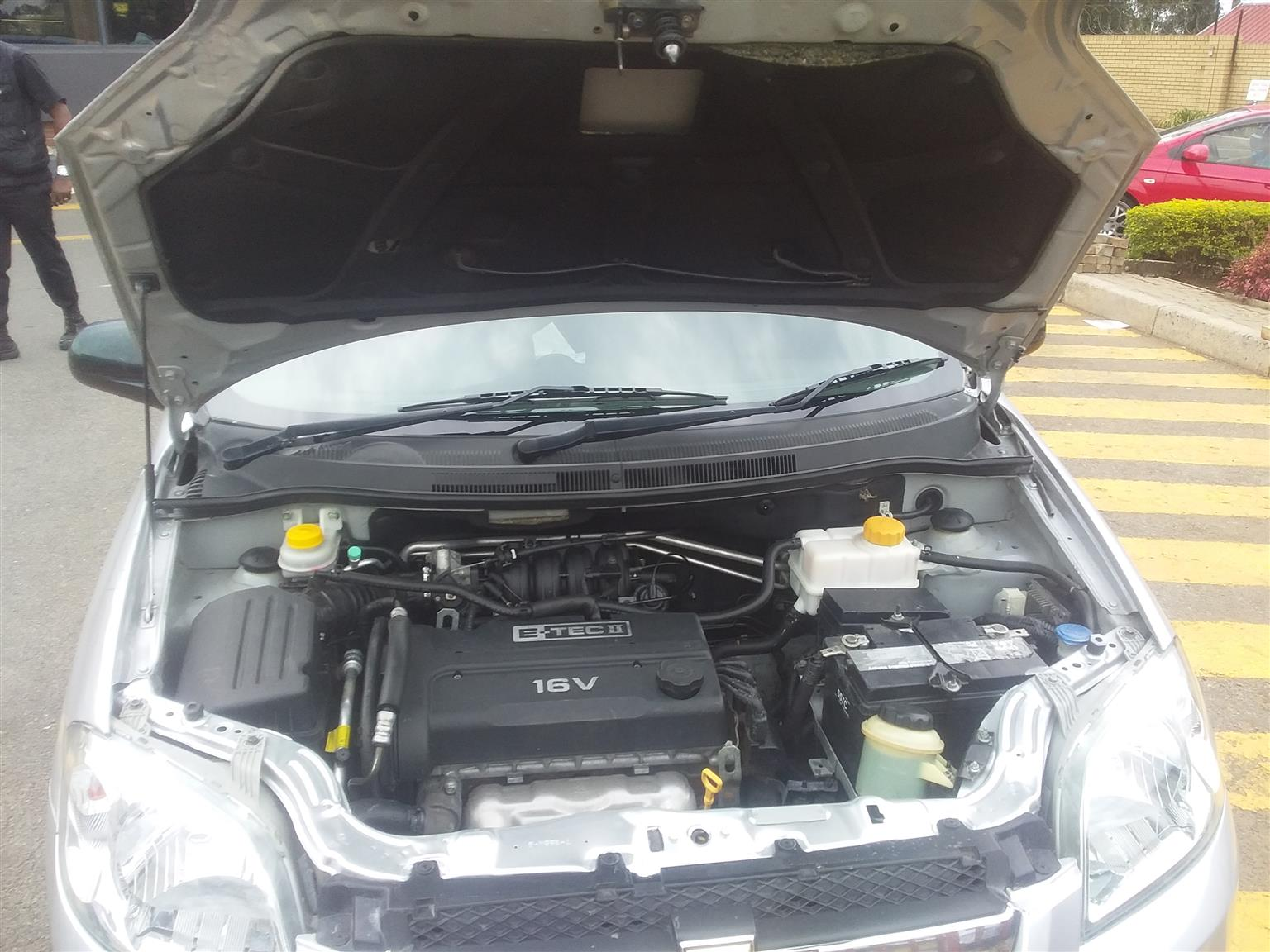2016 Chevrolet Aveo sedan 1.6 L