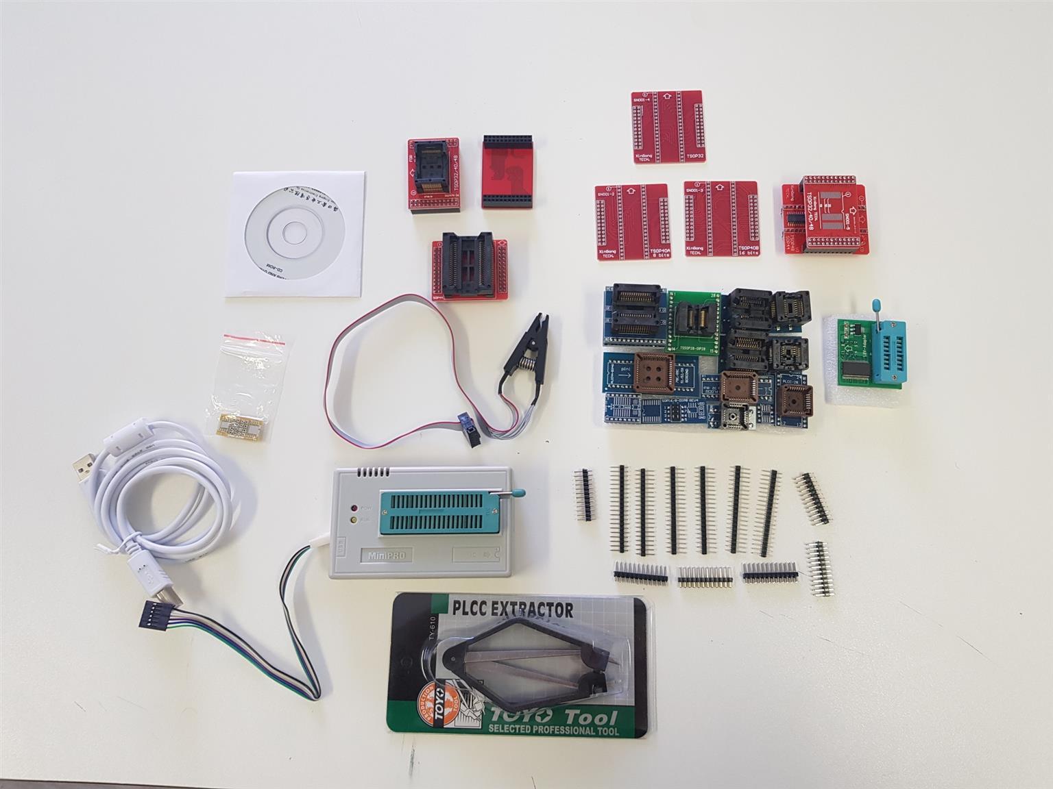 MiniPro TL866A V6.6 +24 adapters