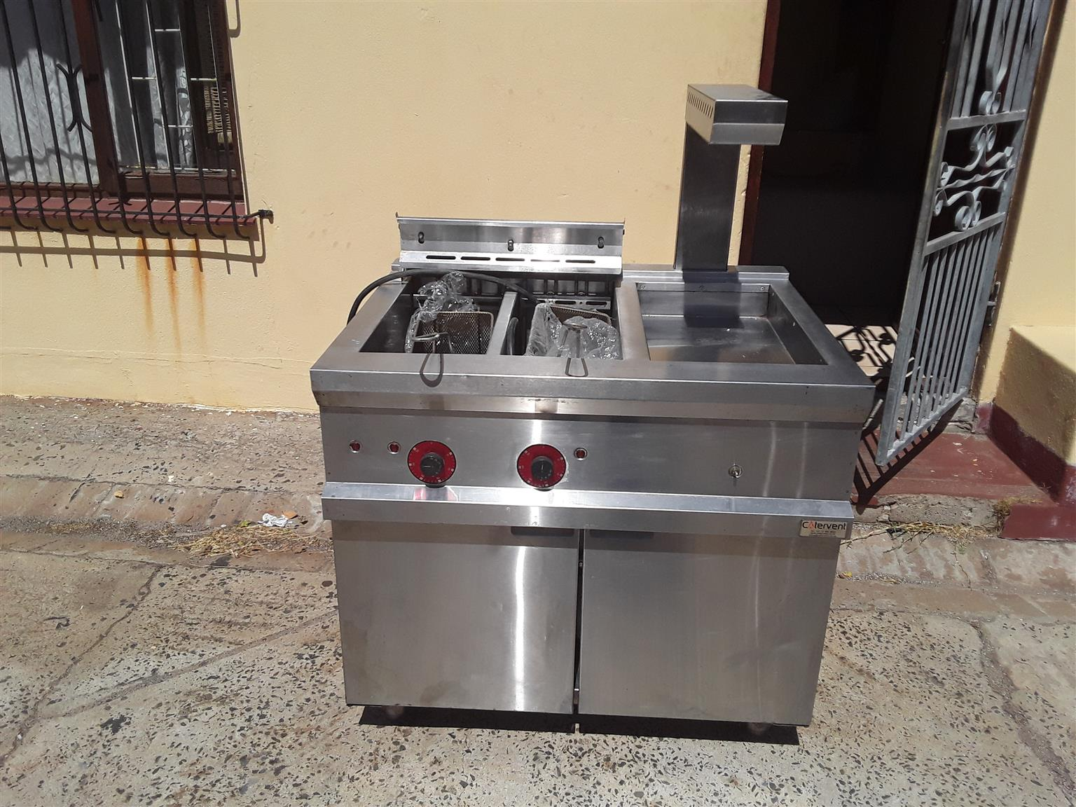 Deep Fryer for Fish and Chips