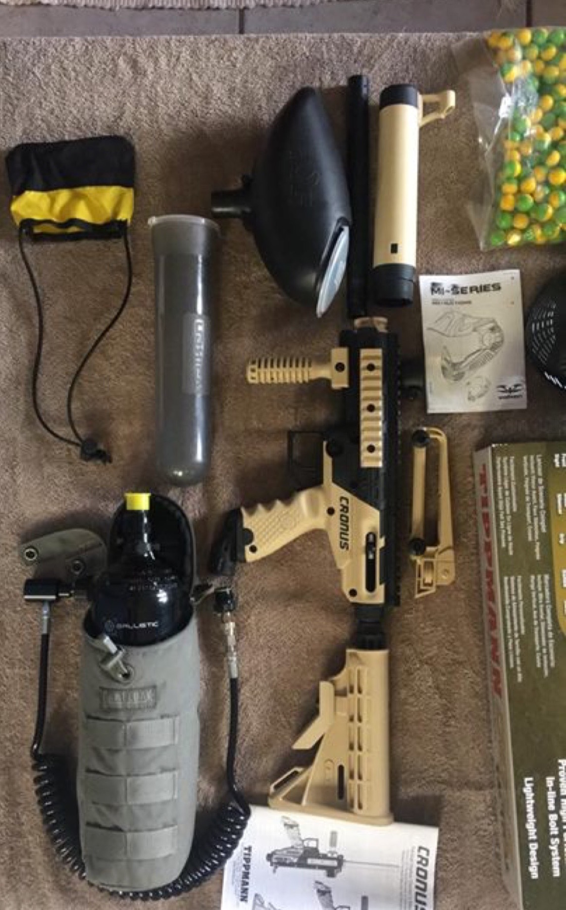 Complete Tippman Paintball Kit for Sale
