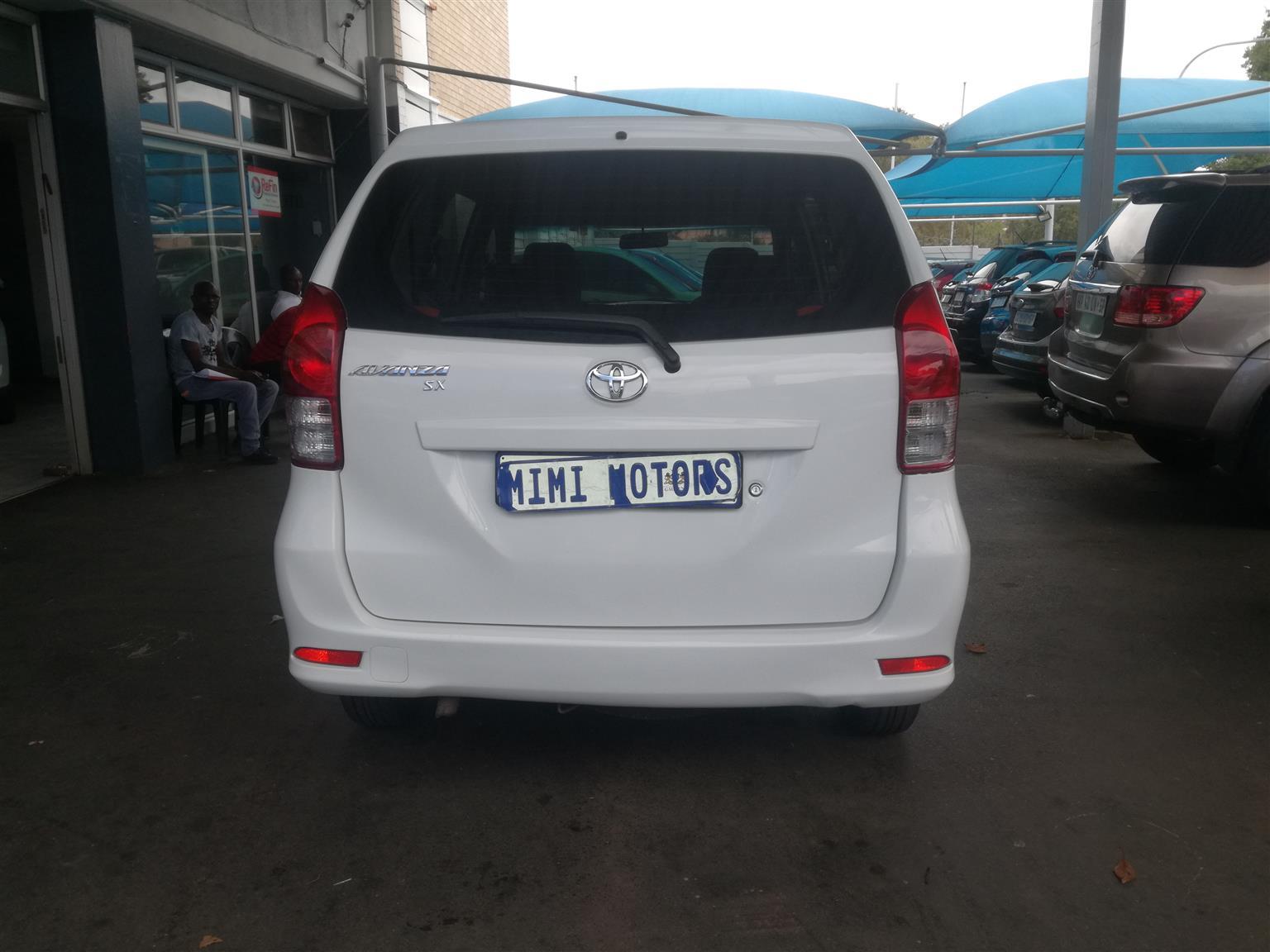2014 Toyota Avanza 1.3 SX