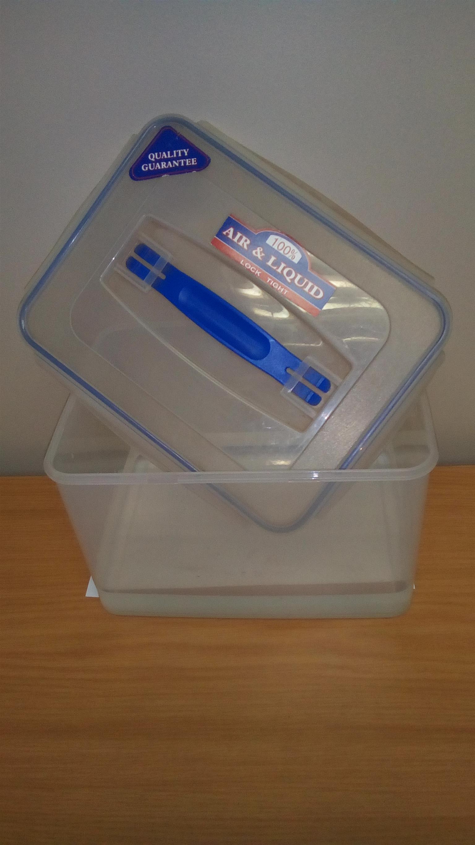 Air & Liquid airtight container