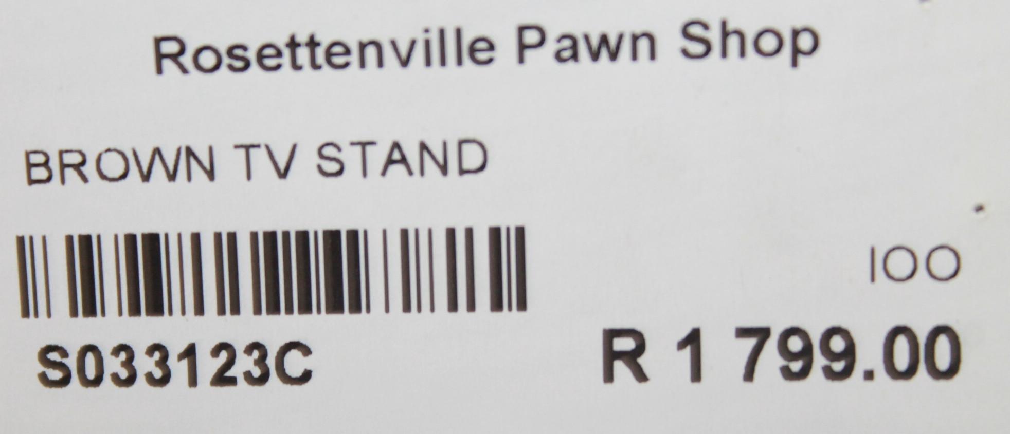 Tv stand S033123c Rosettenvillepawnshop