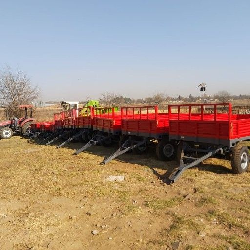 6 ton double axle trailer