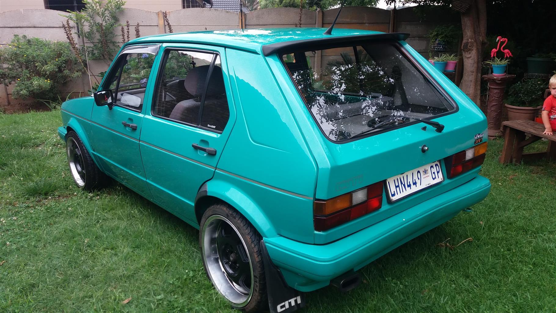 1989 VW Citi CITI 1.8i