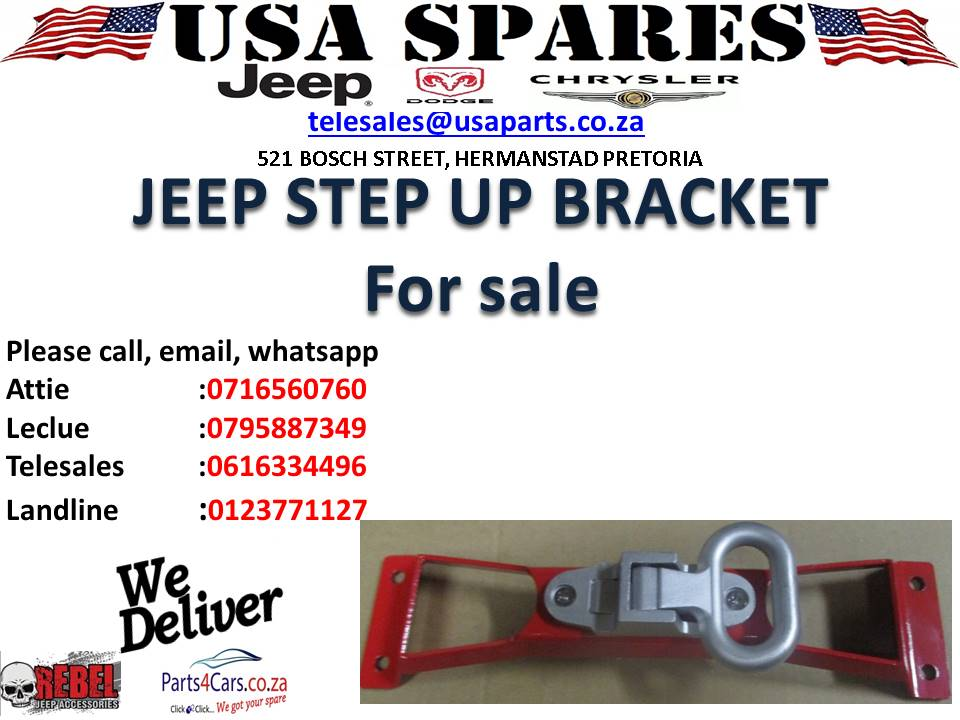 JEEP STEP UP BRACKET SET