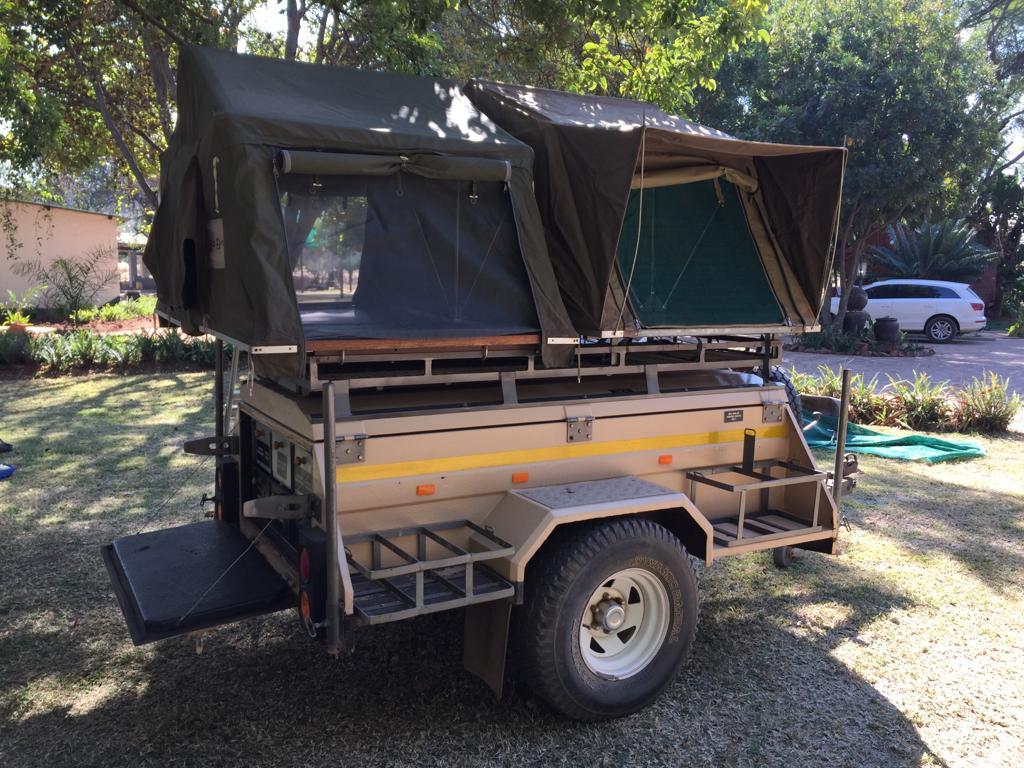 Safari 4x 4 trailor