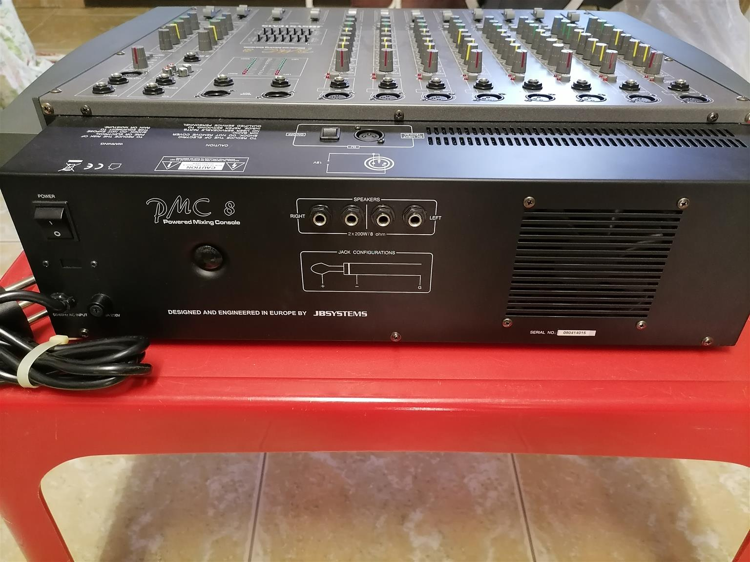 JB SYSTEMS PMC 8 CHANNEL MIXER FOR SALE
