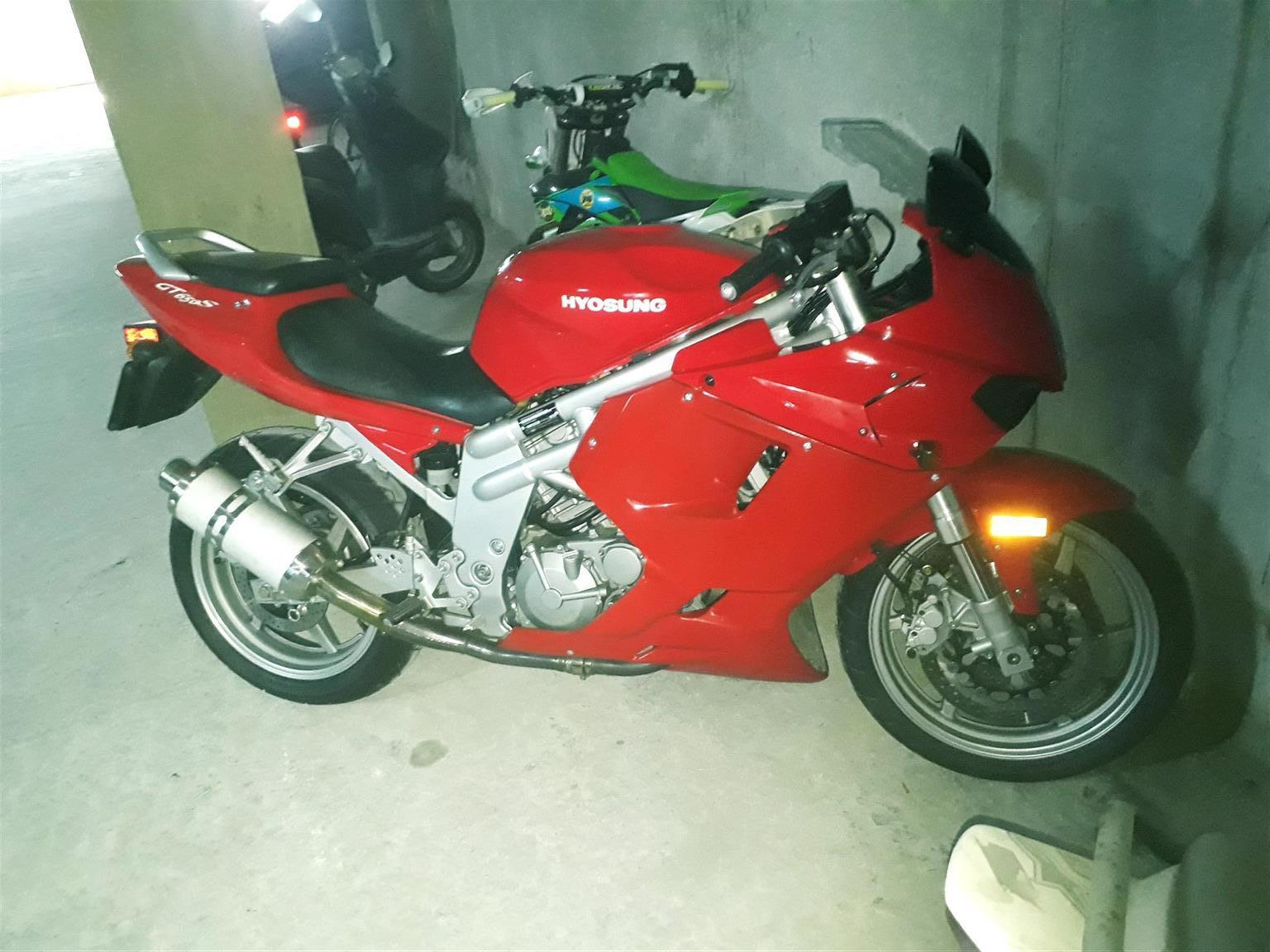 2007 Hyosung GT