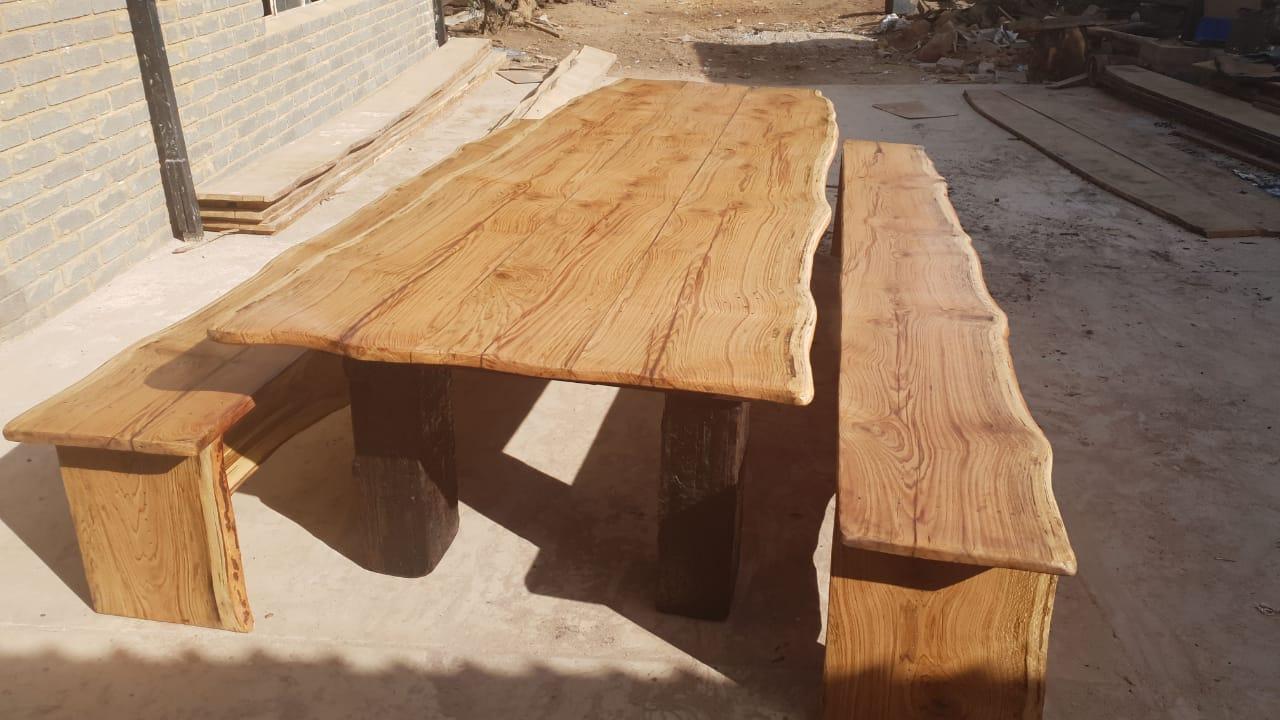 4m bankies stel  - sleeper wood