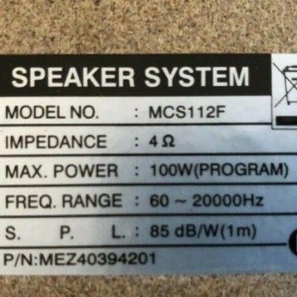 LG powerfull Speakers