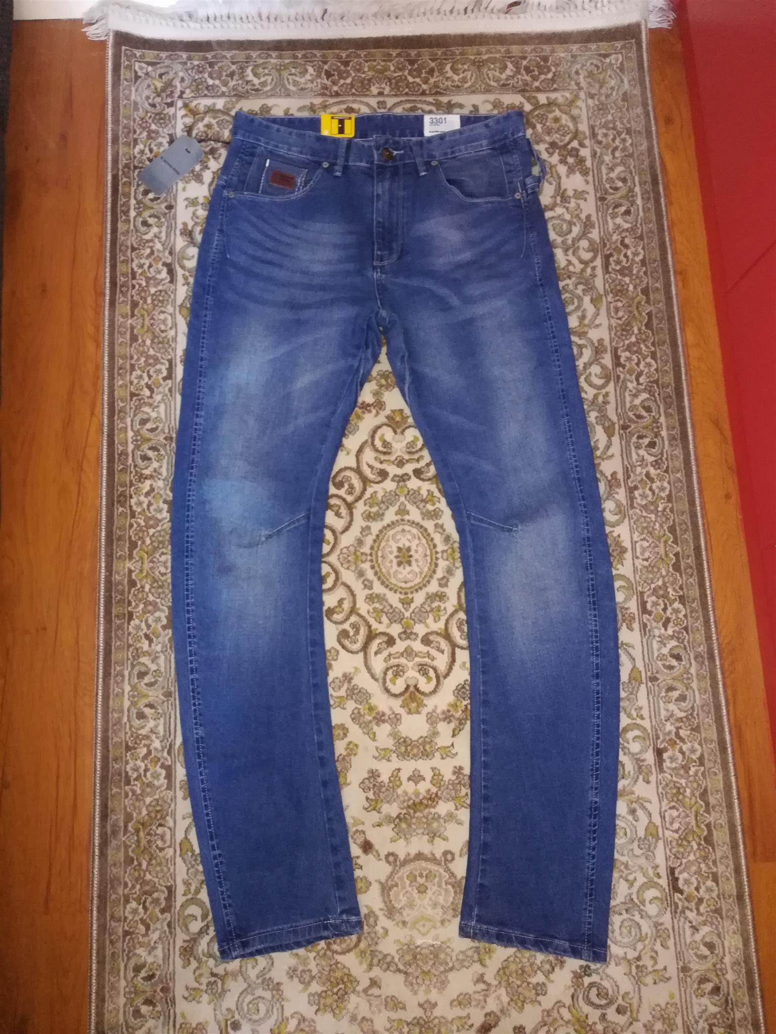 Diesel, G-Star and Armani AAA jeans and joggers R850