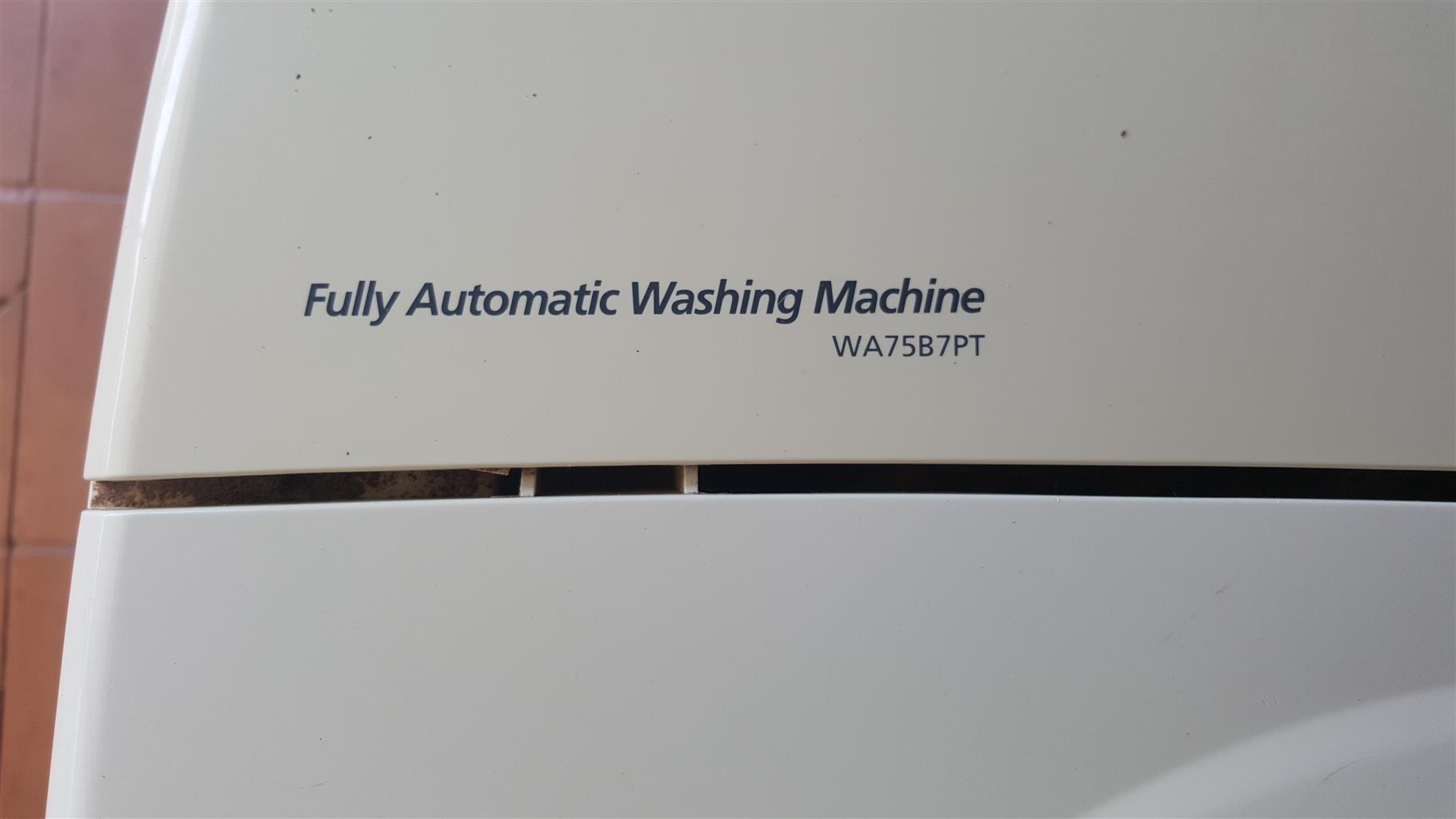 SAMSUNG 8KG TOPLOADER WASHING MACHINE