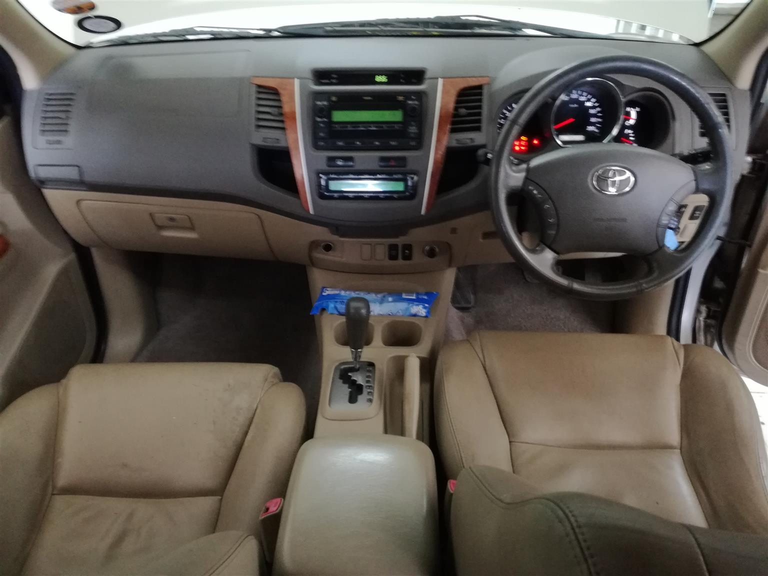 2011 Toyota Fortuner 3.0D4D Automatic