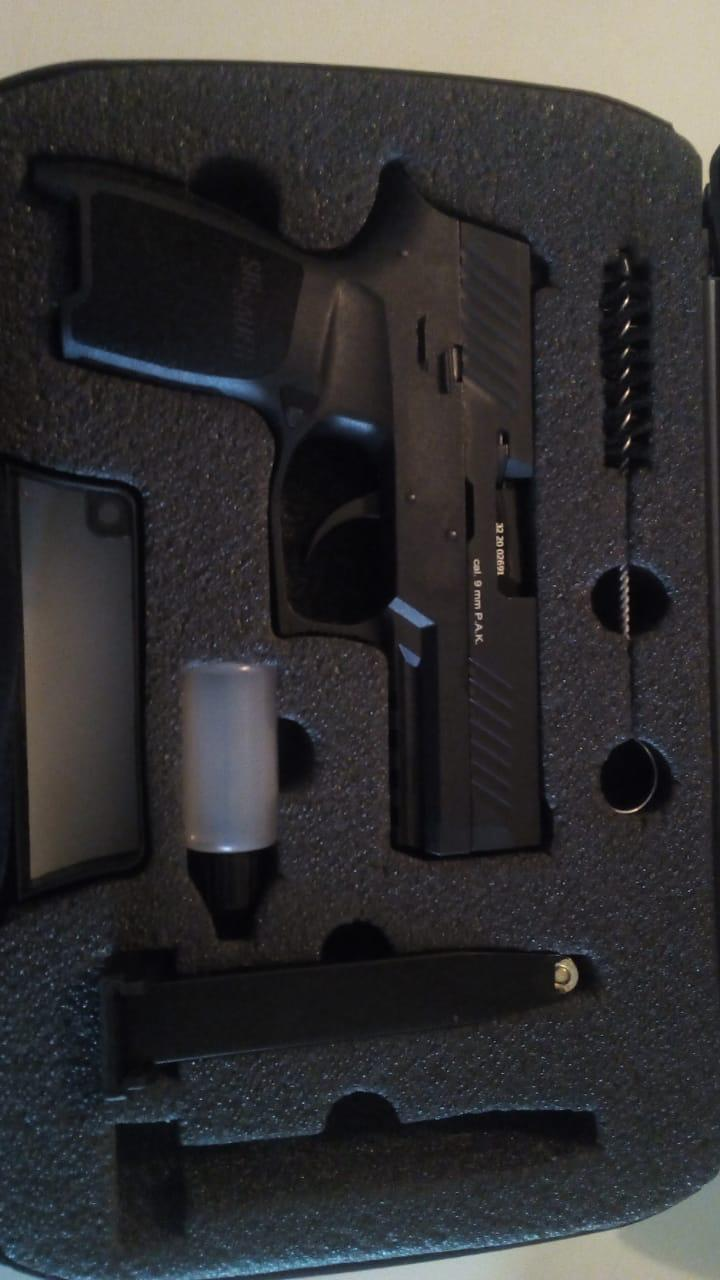 Sig Sauer P320 blank Pistol[Not real]