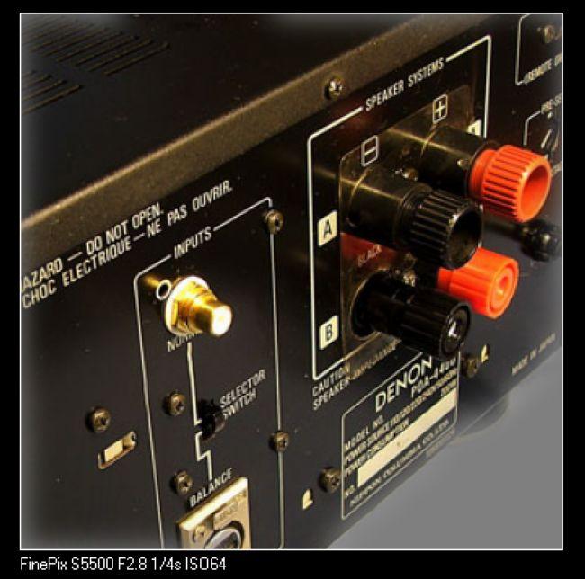 DENON POA04400 MONO BLOCK POWER AMPS