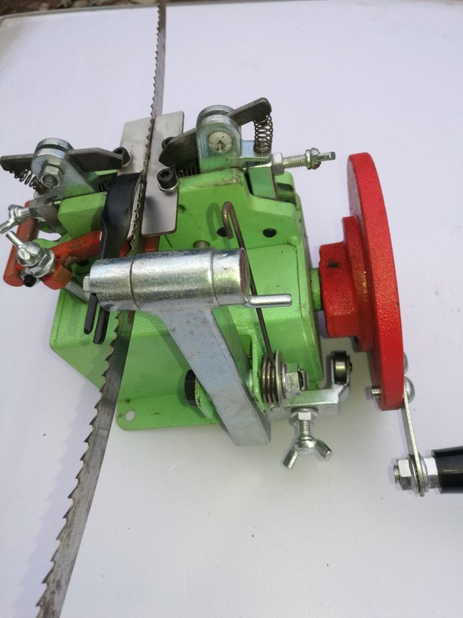 Bandsaw Setter, Setting Mill, ROOSMAC, (manual)