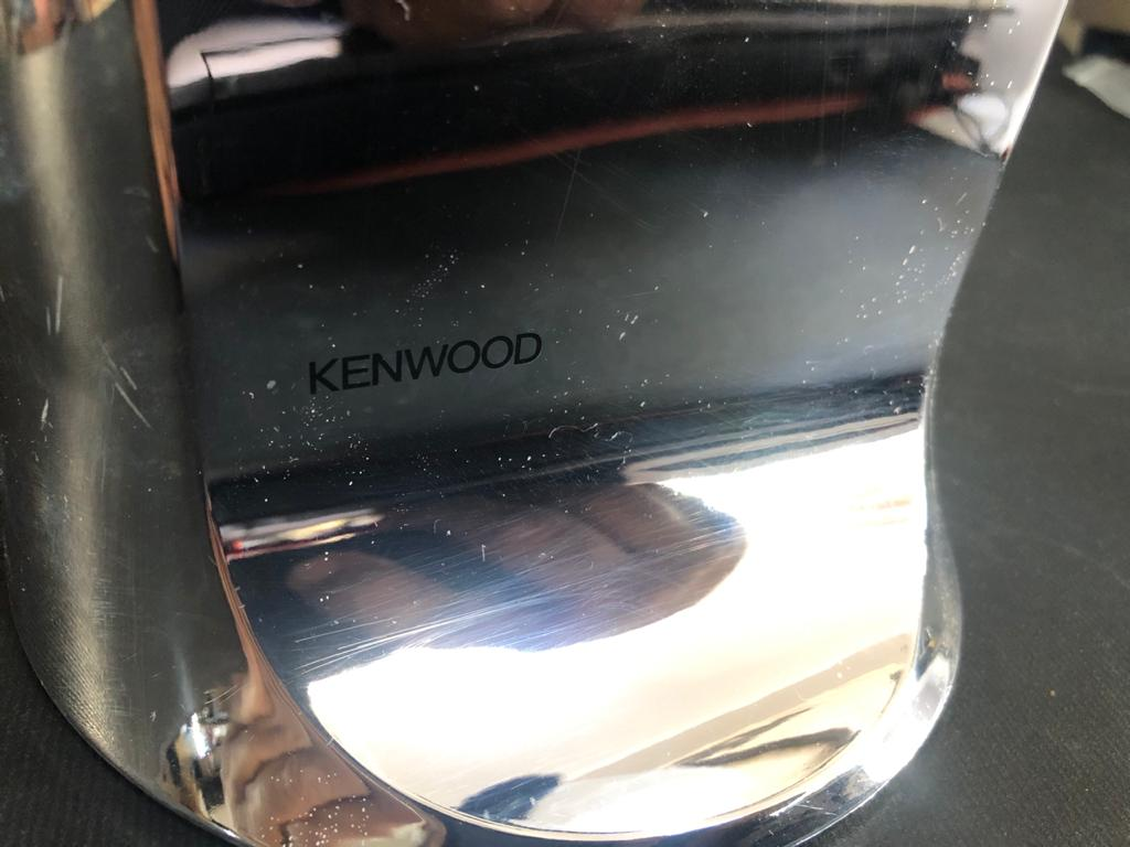 Kenwood 3-in-1 Electric Chrome Can Opener in box - make life a little easier!