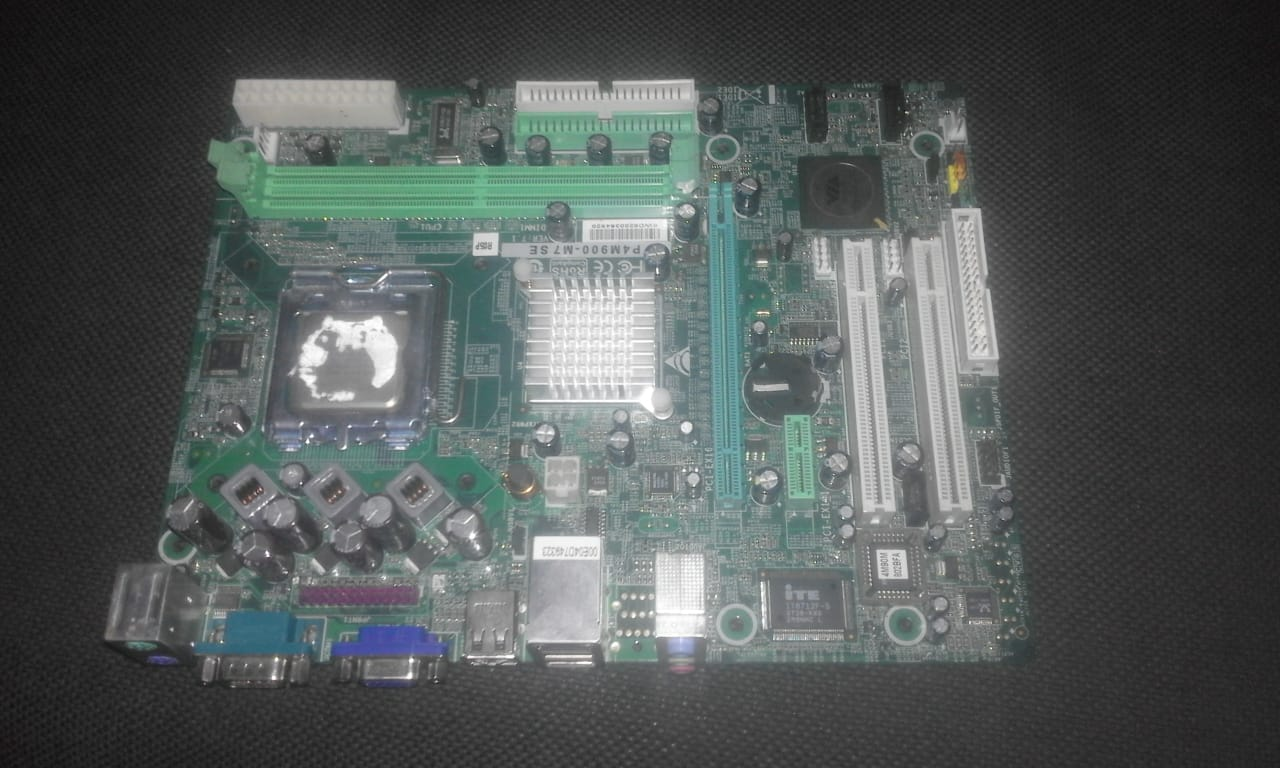 Intel desktop motherboard