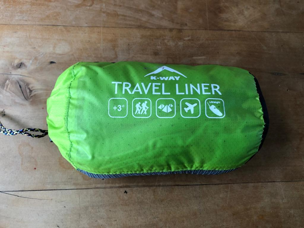 K-Way Travel liner Designed to add warmth and comfort to your sleeping bag