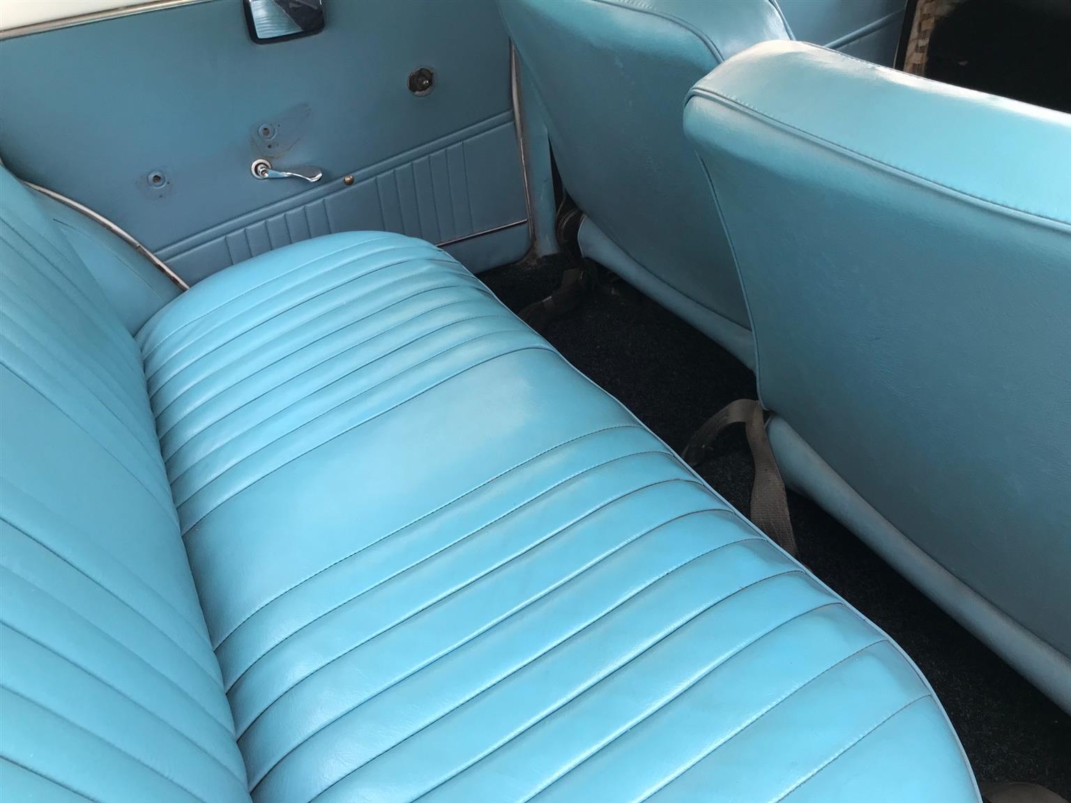Stunning classic Fiat 1500 Sedan