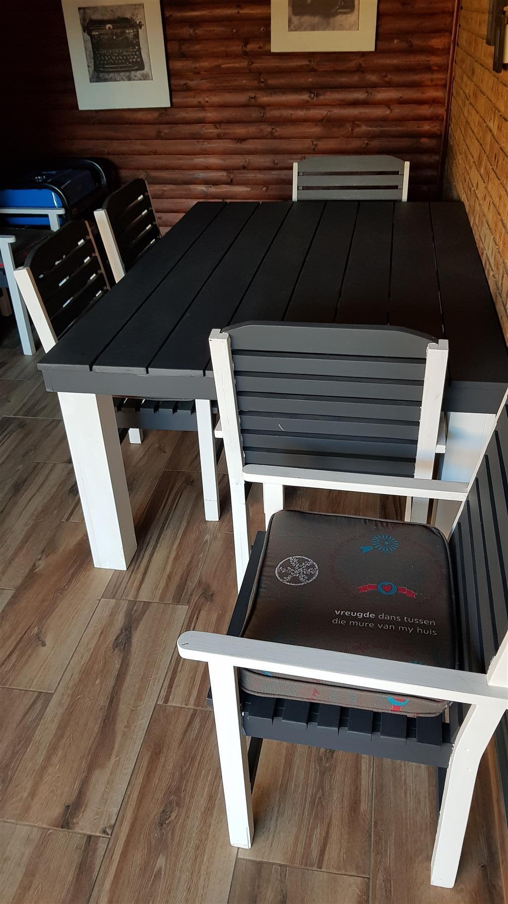 6 seater patio oregon set