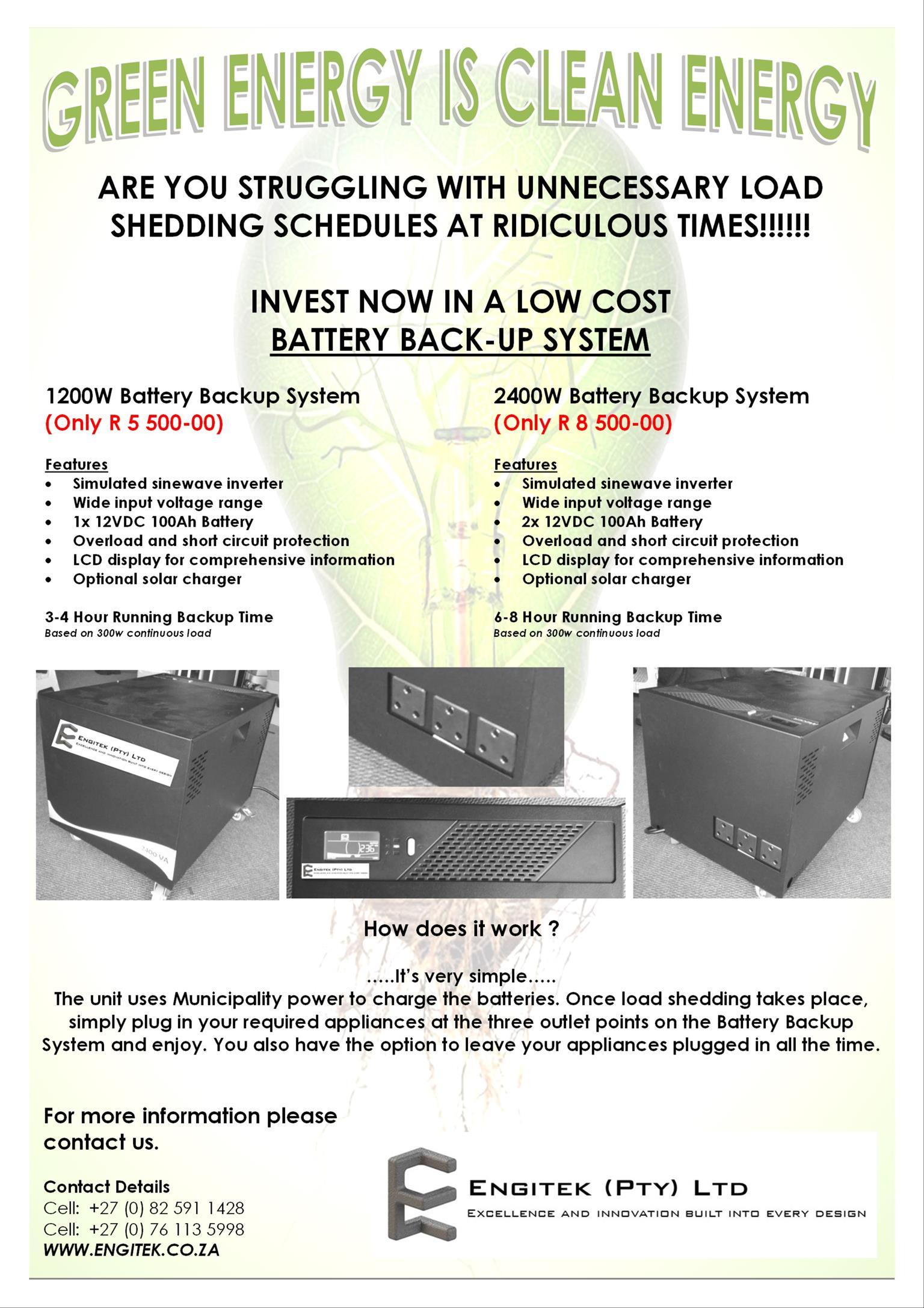 UPS, Battery box
