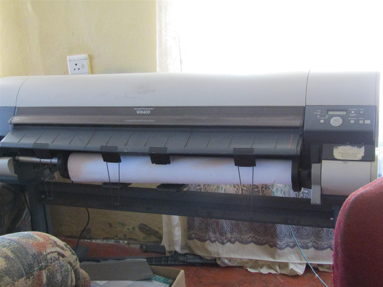 Printer, Large format Printer, Canon ImagePrograaf W8400