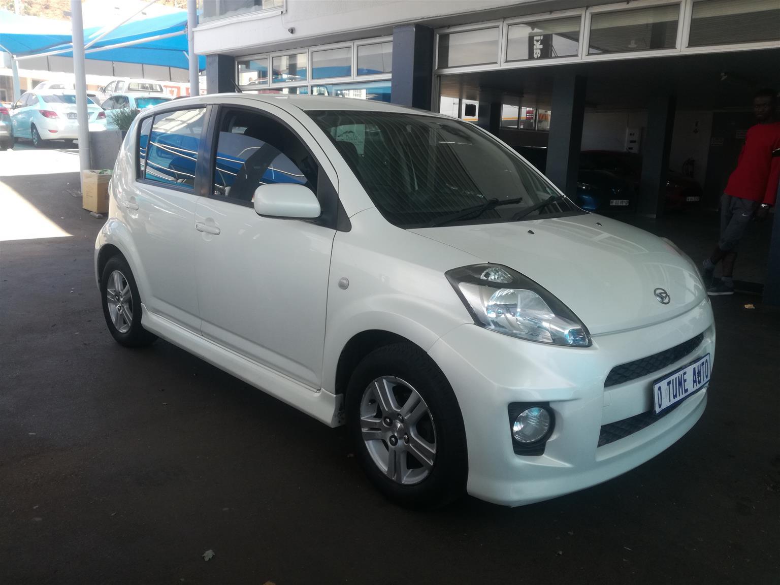 2008 Daihatsu Sirion 1.3