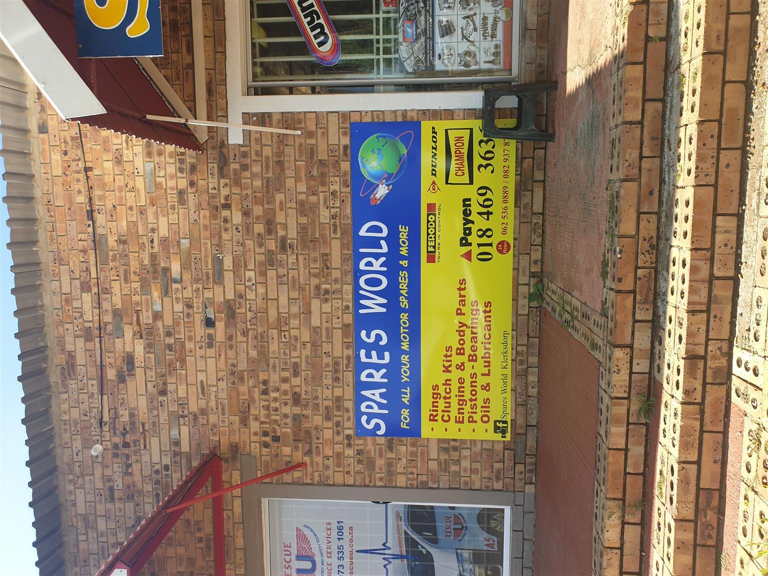 Spares shop for sale