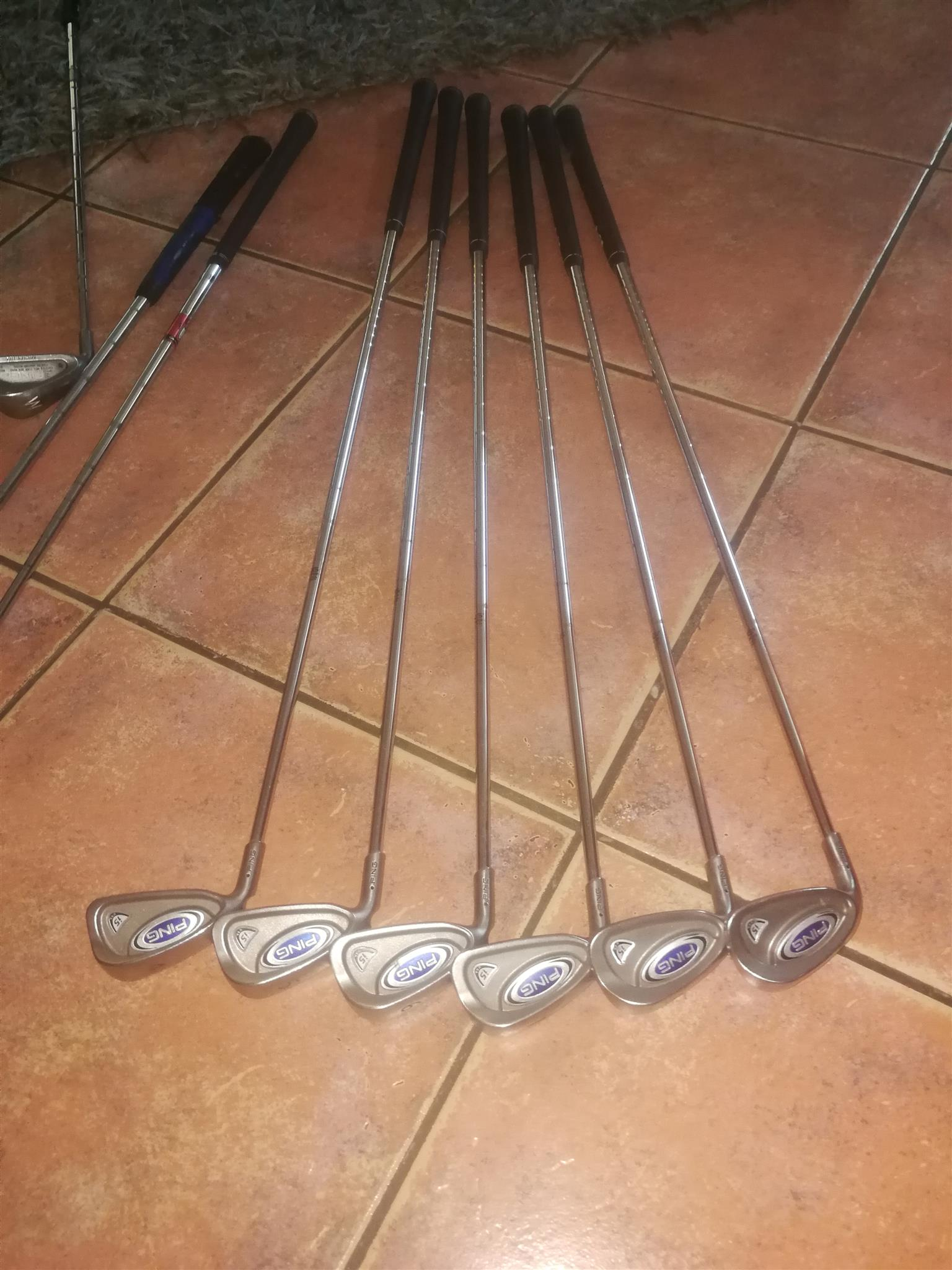 Left hand clubs